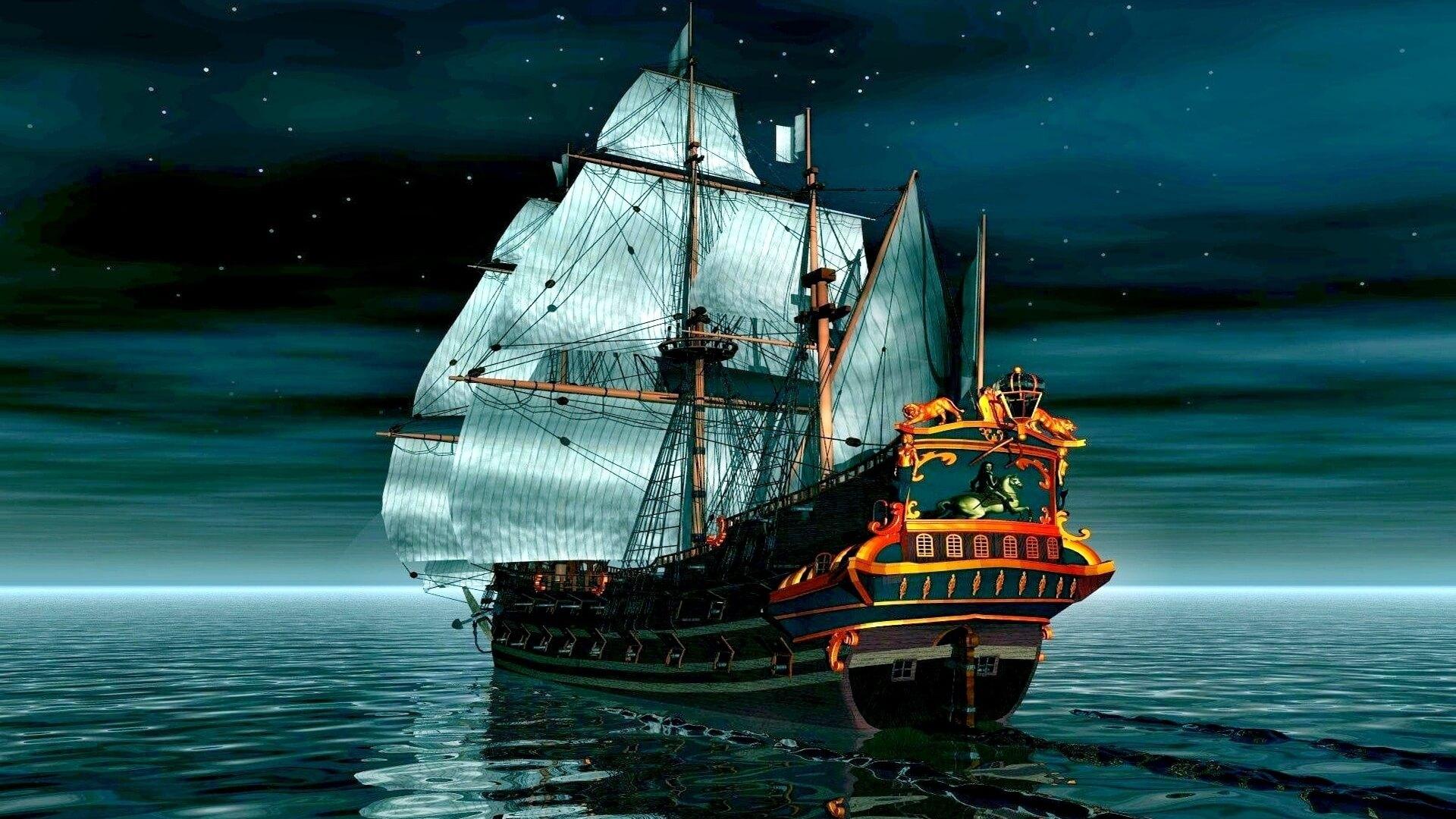 картинка корабль на телефон обои время одним