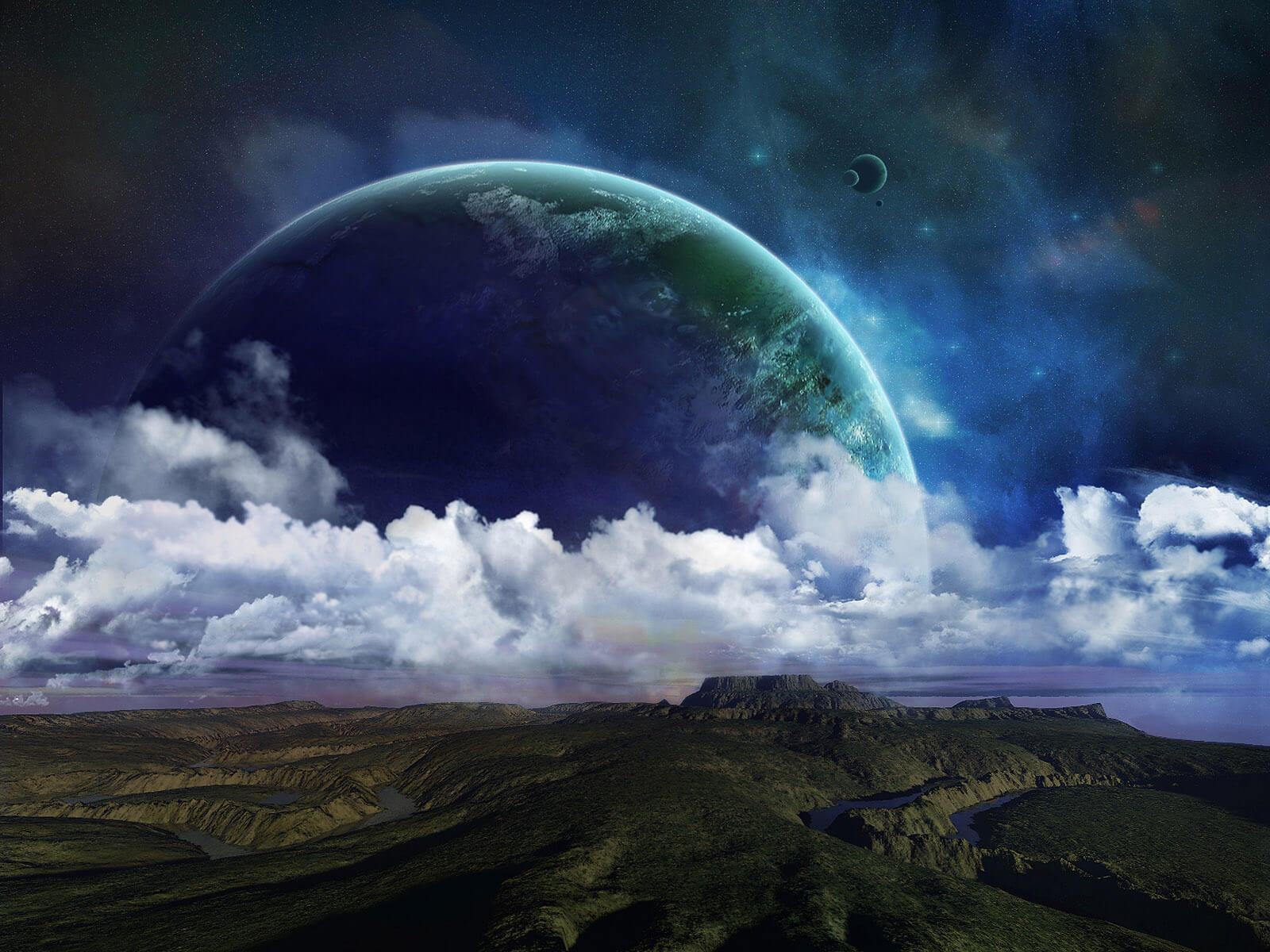картинки три неба над землей это происходит той